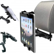 "SUPPORTO TABLET POGGIATESTA AUTO IPAD GALAXY TAB STAND HOLDER UNIVERSALE 7""-10"""