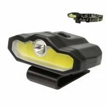 Torcia frontale luce LED da testa lampada ricaricabile pesca viaggio casa USB