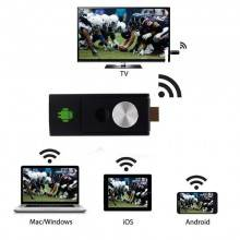 Dongle mini pc tv streaming chiave usb riproduzione video audio pc tv hdmi