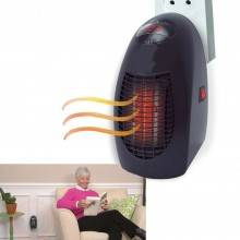 Scaldino casa riscaldatore ventola aria calda 400W timer temperatura calore