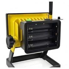 Faro Faretto 20 LED portatile impermeabile e ricaricabile con 3 modalità di luminosità. [Classe di efficienza energetica A]