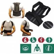 Fascia posturale tutore correttore postura schiena posture supporto unisex