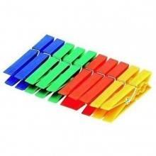 40 mollette da bucato pinze in plastica multicolore stendibiancheria panni lava