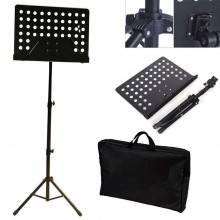 Leggio treppiedi porta spartito scuola musica canto regolabile portatile sacca