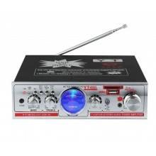 Amplificatore audio stereo FM usb sd card auto casa karaoke 12 V 220 V YT328A