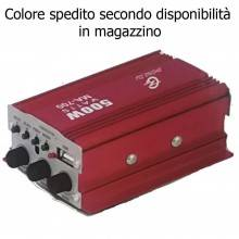 Mini Amplificatore stereo audio 12V FM lettore mp3 Usb MA-700 auto veicoli casa