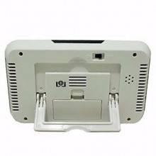 Orologio sveglia display LCD data orario controllo luce allarme luce notturna