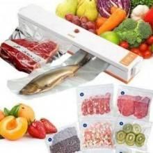 Macchina per sottovuoto 100W alimenti conservazione cibo confeziona buste 30 cm