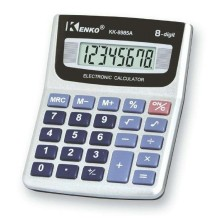 KENKO Calcolatrice tascabile cancelleria scuola 8 cifre calculator ufficio 8985A