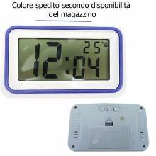 KENKO Orologio da tavolo display sveglia KK9905 ora temperatura parlante anziani