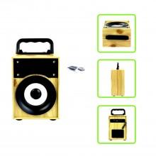 Cassa speaker bluetooth altoparlante AUX TF USB microUSB musica portatile