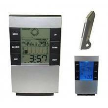 Stazione meteorologica Orologio da tavolo display LCD sveglia allarme DS3210 ora temperatura calendario