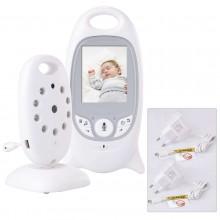 Baby monitor sicurezza sorveglianza bambino notte sonno neaonato video audio