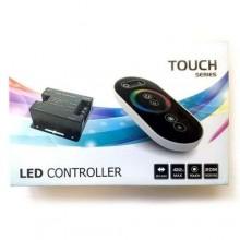 Led controller Telecomando touch regolazione luci strisce RGB 12V 24V centralina