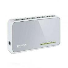 TP-LINK modem router wifi 8 porte RJ45 rete collegamento TL-SF1008D casa ufficio