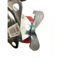 4 ruote plastica ricambio carrello rotella staffa misure varie ruota girevole
