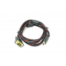Cavo VGA a HDMI cavo telato 1,5 m trasmettere segnale video PC a lettori hdmi