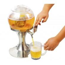 Dispenser per bevande gassate e alla spina 3,5 litri con vano ghiaccio indipendente con erogatore