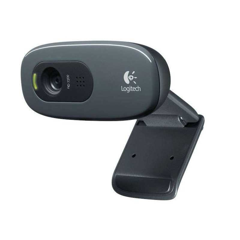 LOGITECH Webcam HD C270 miniphone integrato compatibile Skype usb cavo 1,5 m