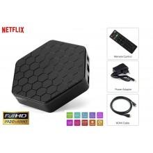 Smart TV box Android IPTV 3 GB ram 32GB rom wifi telecomando andowl 4K HDR Q5