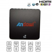 Smart TV box IPTV Android 4 GB ram 32GB rom wifi telecomando andowl 4K HD Q-M6