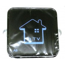 Smart TV box Android 2GB ram 16GB rom wifi telecomando HDMI IPTV RCA hTV A8