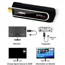 Smart TV box Dongle Android 7.1 2GB + 16GB wifi 4K HD Bluetooth iptv H96 pro