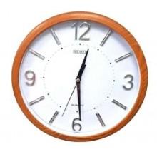 Orologio Da Parete Tondo con cromatura Quarzo Muro 30cm di Diametro Breaker231
