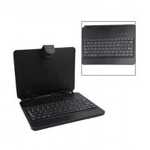 """Custodia Cover Stand per Tablet 7/8"""" Pollici UNIVERSALE con Tastiera e cavo USB"""