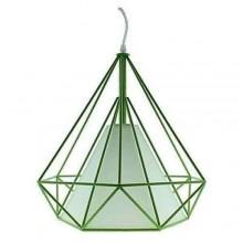 Lampada soffitto Dimen 1 luce LED E27 moderno plafoniera sospensione salotto