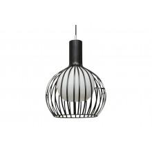 Lampada soffitto Carol 1 luce LED E27 moderno plafoniera sospensione salotto