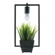 Lampada soffitto Natural Vintage 1 luce LED E27 plafoniera sospensione salotto