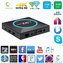 Smart TV box Android 6.0 1GB ram 8GB rom wifi 4K HD telecomando iptv I92 pro