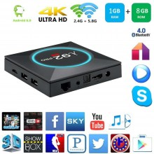 Smart TV box Android 6.0 1GB ram 8GB rom wifi 4K HD telecomando iptv I92 pro