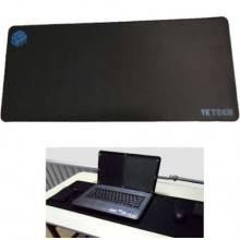 Mousepad tappetino XXL 70x30 cm gigante mouse mat tappeto laptop game nero yktec