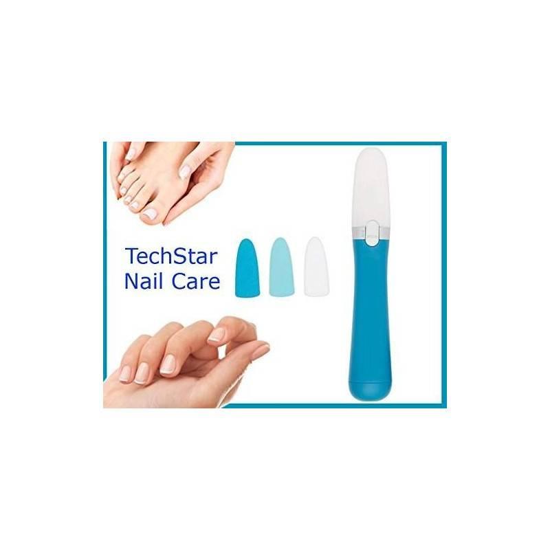 Il nuovo kit elettronico techstar nail care! Lima, leviga, lucida e rifinisce le tue unghie! Specifico per mani e piedi.