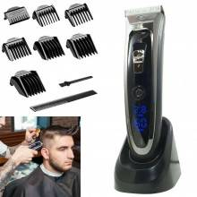 Taglia capelli professionale Rasoio barba pettini regolabile display LCD RFC6888