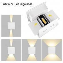 Faretto LED 10W Parete luce Calda Fredda interno esterno muro impermeabile 909
