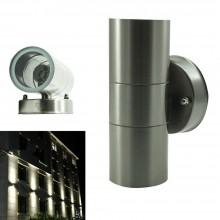 Plafoniera esterno interno faretto Doppia luce Applique muro impermeabile 8055