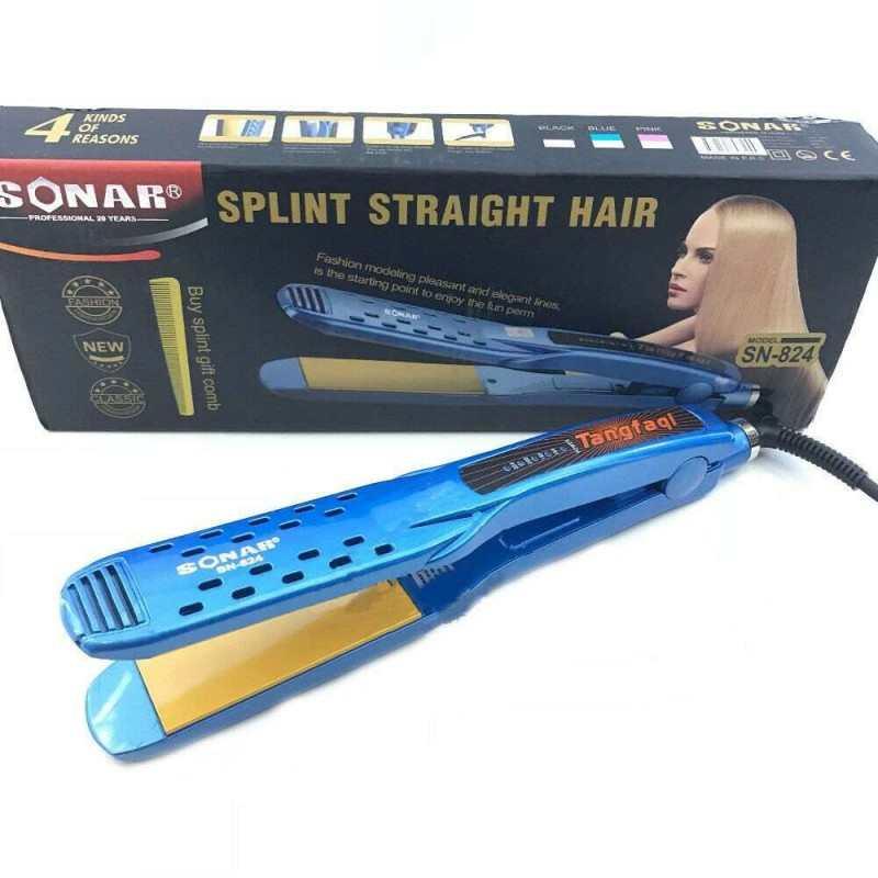 Piastra ceramica capelli lisci 80W lisciante max 220° piega donna SN-824