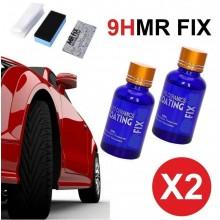 2x kit trattamento ceramica auto moto professionale polish protezione scocca