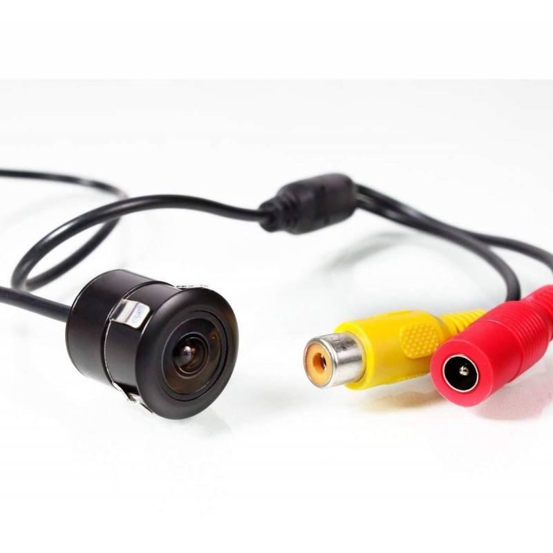 Mini retrocamera / Telecamera per retromarcia + Comoda e sicura per parcheggiare + Ampio angolo di visione 170°