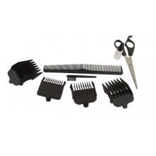 Tagliacapelli Rasoio barba pettine regolabile taglia capelli uomo kit SK- 709