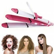 Piastra capelli donna lisciante effetto friseè frisè doppio utilizzo casa SK230