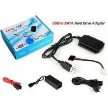Adattatore ide sata convertitore con alimentatore hard disk Usb gestione pc 2.5
