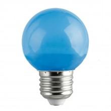 Lampadina LED 1W mini globo E27 colore VERDE decorazione casa locale luce