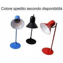 Portalampada tavolo E27 max 60W luce notte comodino tavolo lettura 877