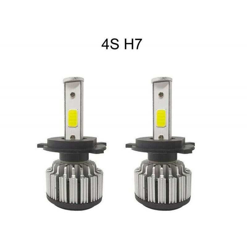 2x lampade fari ricambio 6000K auto 2800 lm alta luminosità 4S H7