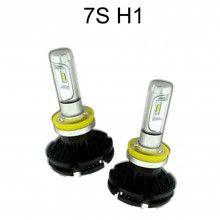 2x lampade fari ricambio 6000K auto 3000 lm alta luminosità 6S H7