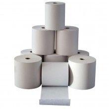 50 Rotoli termici 57x30 omologati registratore cassa carta termica alta qualità